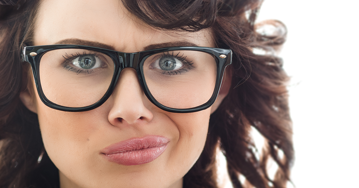 Glasses Frames To Make Eyes Look Bigger : Solving Problems With Eyeglasses - AllAboutVision.com
