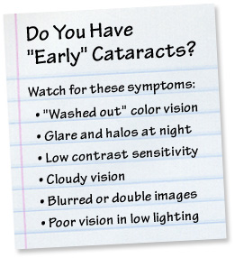 Cataract surgery checklist