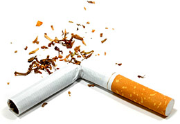 Give up cigarettes to reduce your risk for macular degeneration.