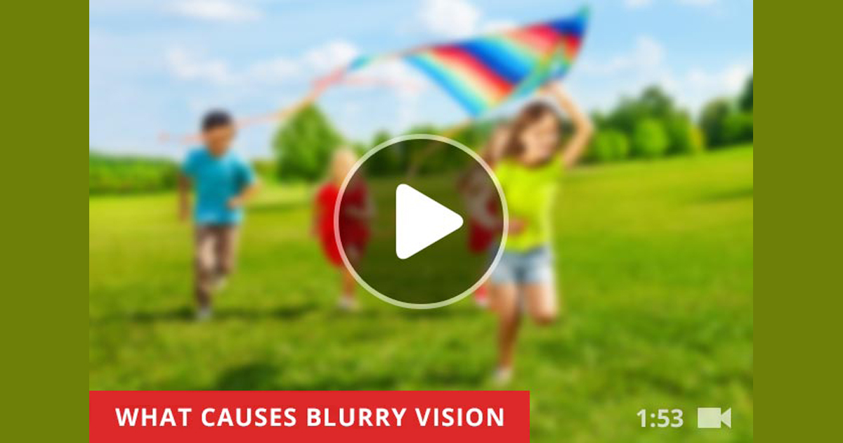 blurry vision causes and treatment