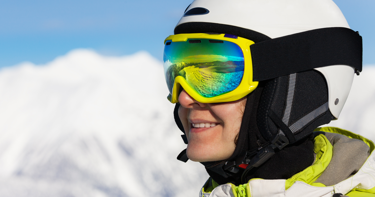 Snow Blindness How To Prevent Sunburned Eyes