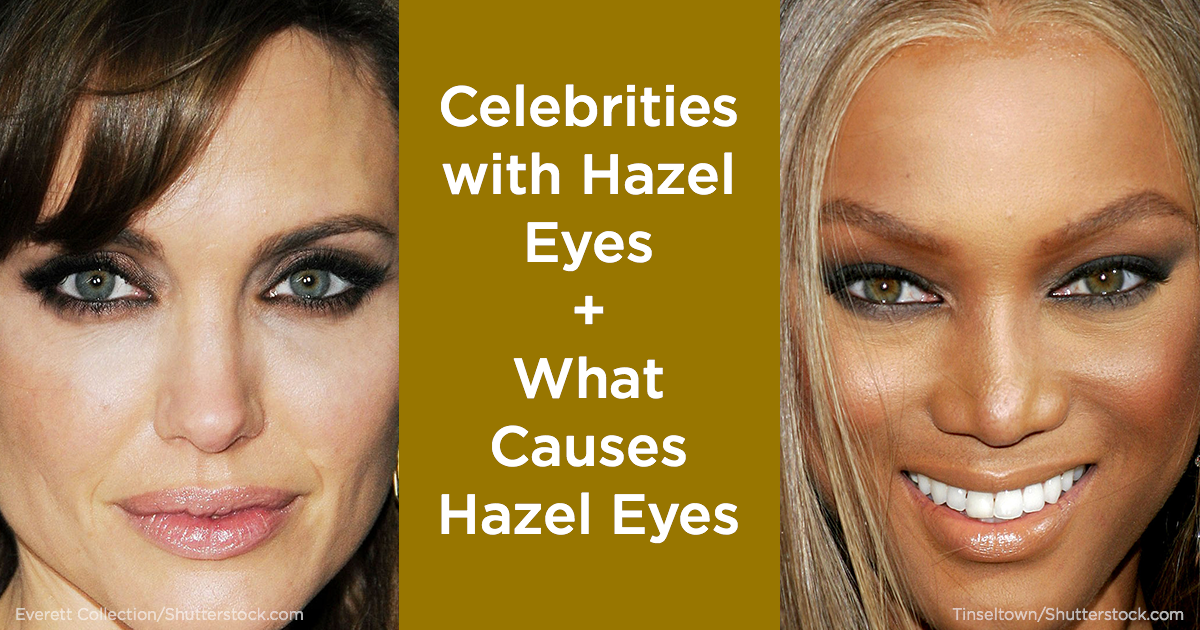 Hazel Eyes What Determines Hazel Eye Color