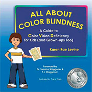 All About Color Blindness, by Karen Rae Levine