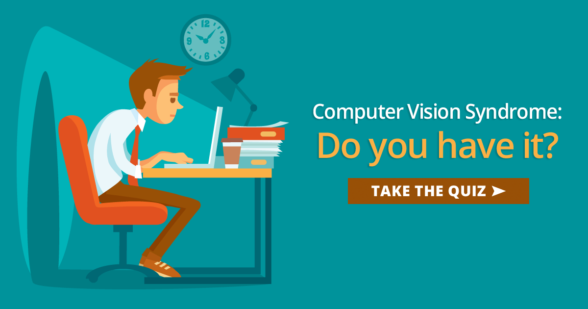 computer vision syndrome self-test
