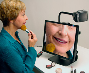 The Acrobat LCD video magnifier from Enhanced Vision