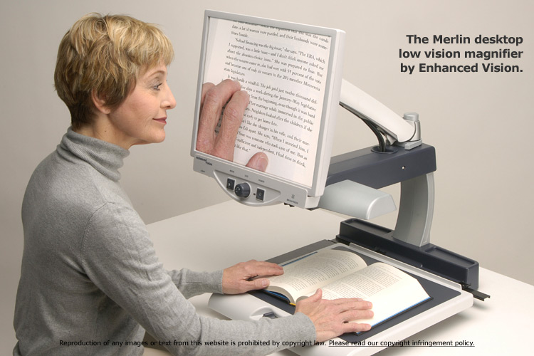 reading machine for low vision