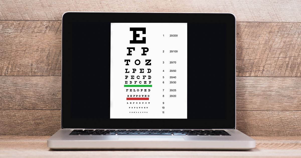 Why an online eye test can't replace your eye doctor