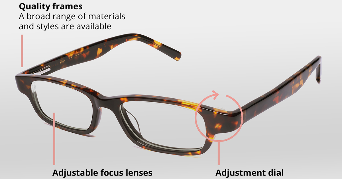 bf4b80484f6 Adjustable Glasses  Adlens and Eyejusters