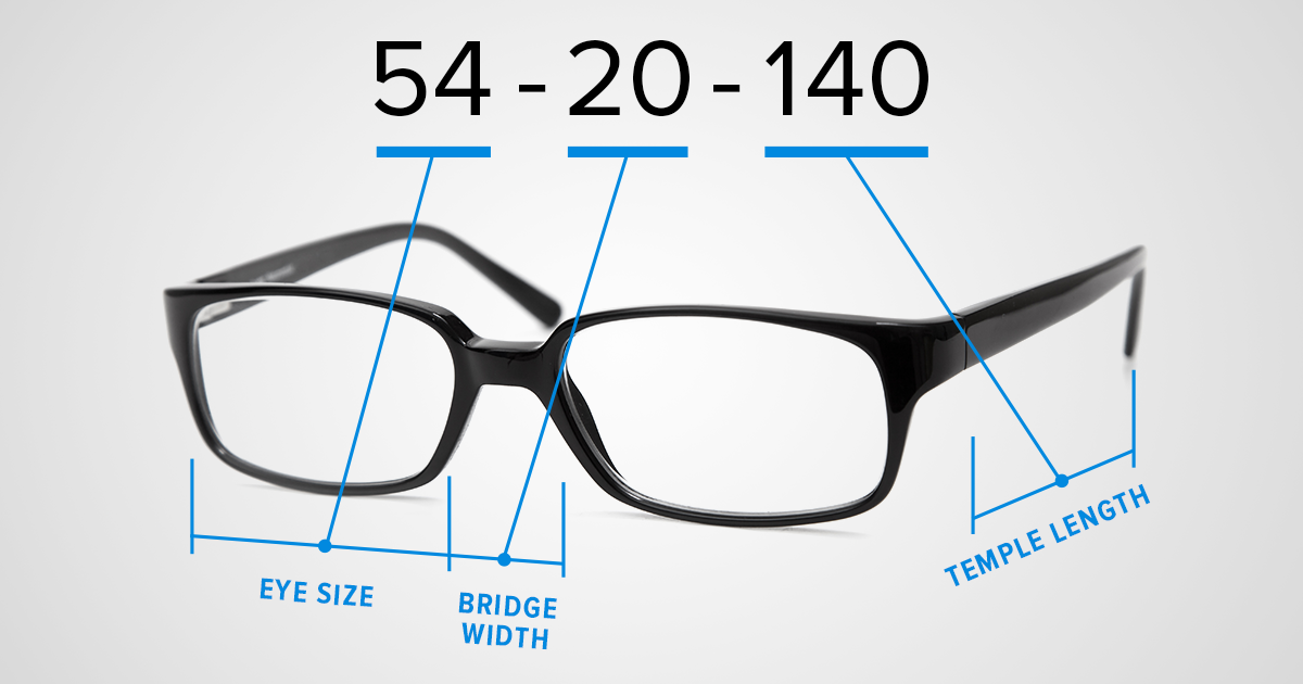 What Do Those Numbers Mean On The Inside Of Eyeglass Frames