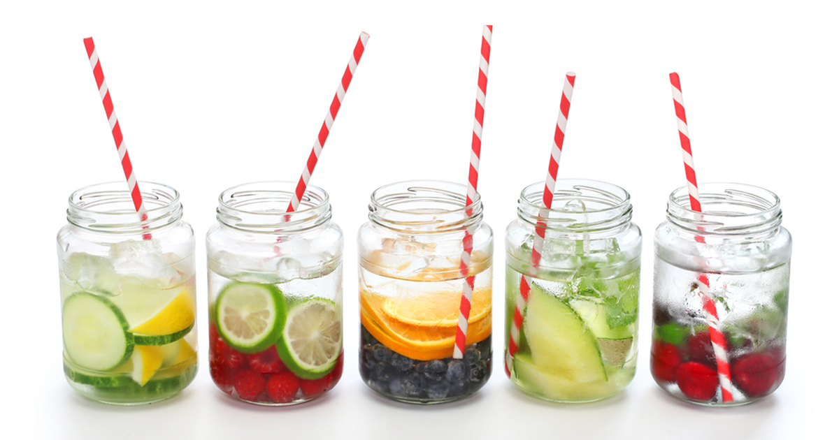 Detox Water Recipes cover image