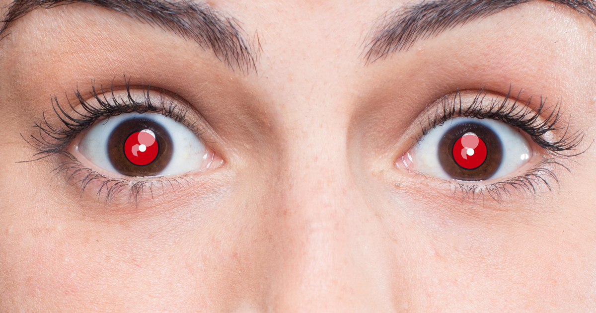 What Causes Red Eyes In Photos And How To Fix The Red Eye Effect