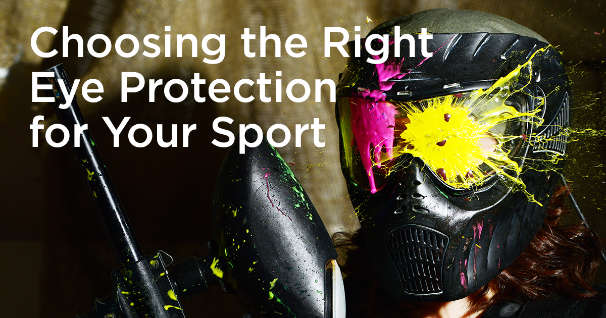 Eye Protection for Sports: How To Choose Sports Goggles