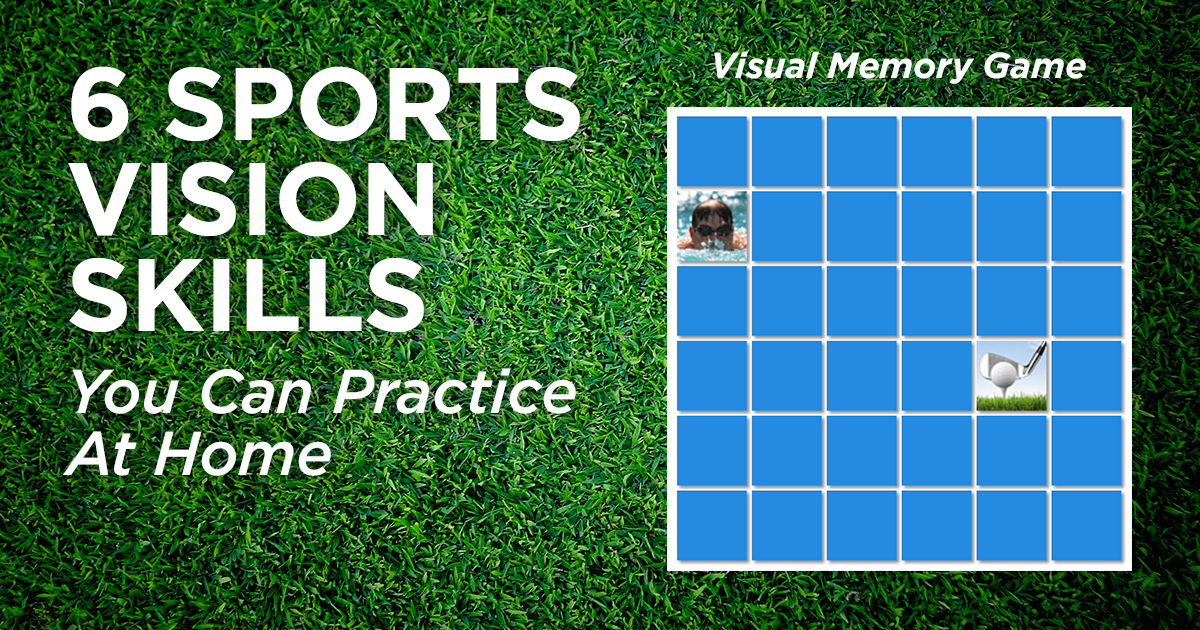 Sports Vision Skills You Can Practice At Home