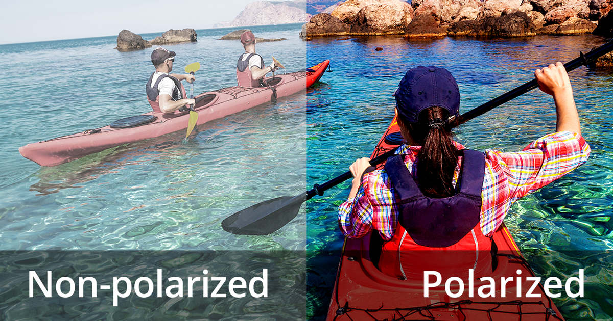 b352f43046644 Polarized sunglasses  See how they reduce glare