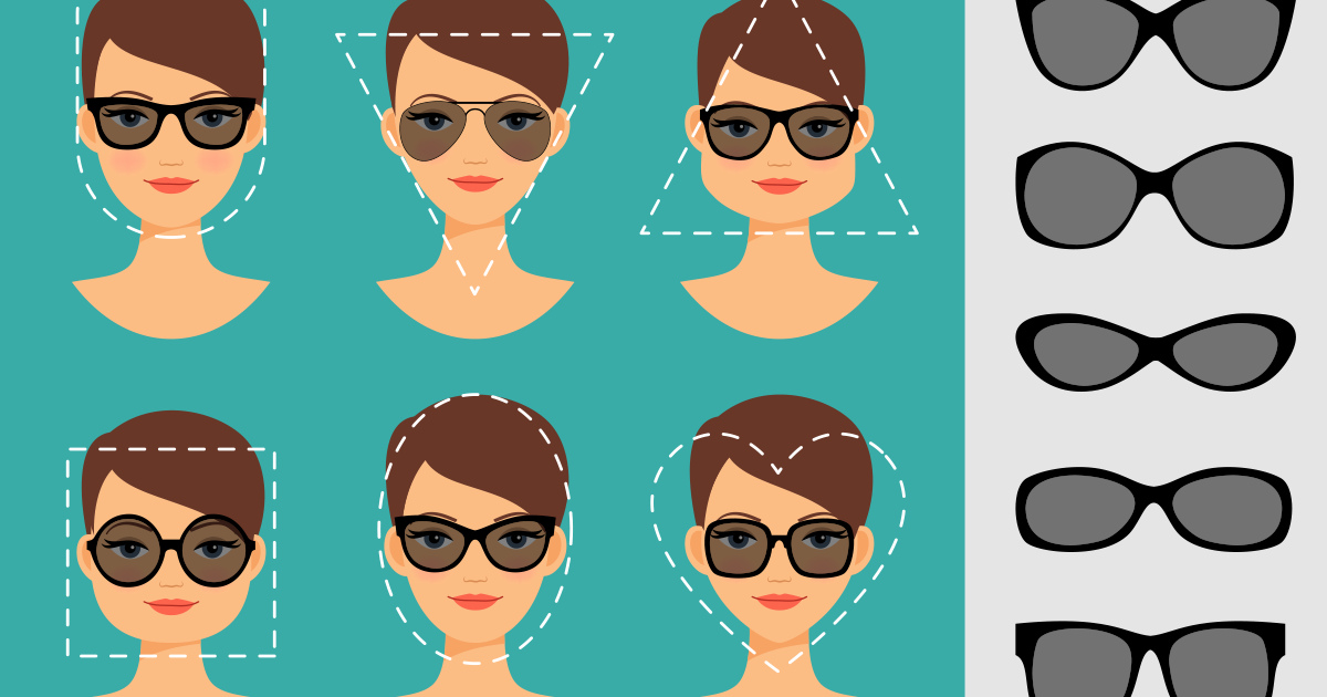 7befdcbd2f3 How to Pick Sunglasses by Face Shape