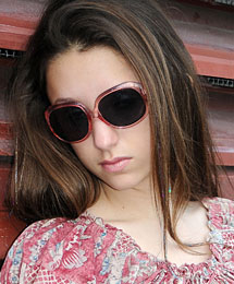 Divalicious sunglasses for teens and Double D sunglasses for kids, by Eyes Cream Shades. Click here for more photos.