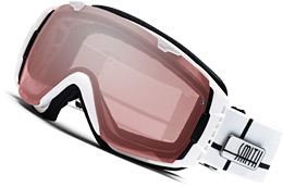 Smith Optics 'White Intersection' ski goggles