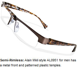 Newest trends in eyeglass frames for men and women.