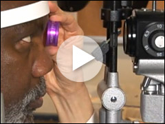 Please click here to watch a video with an eye doctor explaining diabetic eye diseases.